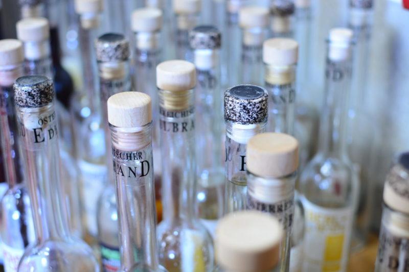 Spirituosenprodukte aus Edelbrand & Liköre