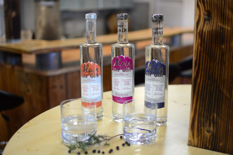 Alpin Dry Gin & Geiste